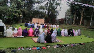Shalat Idul Adha di SMP SalamQu Cendekia